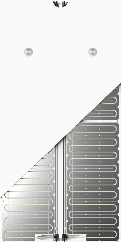 prefabricated radiant panel UTclassic - pannello radiante prefabbricato UTclassic